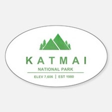 Katmai National Park, Alaska Decal