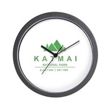 Katmai National Park, Alaska Wall Clock