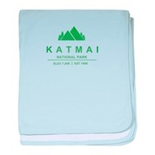 Katmai National Park, Alaska baby blanket