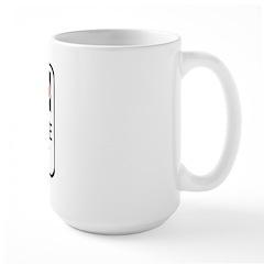 Attitude Wisconsinite Large Mug