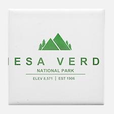 Mesa Verde National Park, Colorado Tile Coaster