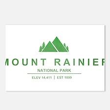 Mount Rainier National Park, Washington Postcards