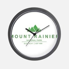 Mount Rainier National Park, Washington Wall Clock