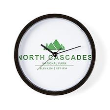 North Cascades National Park, Washington Wall Cloc
