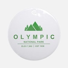 Olympic National Park, Washington Ornament (Round)