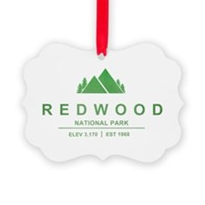 RedWood National Park, California Ornament