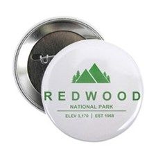 "RedWood National Park, California 2.25"" Button"