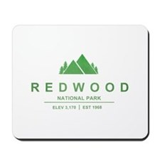 RedWood National Park, California Mousepad