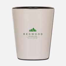 RedWood National Park, California Shot Glass