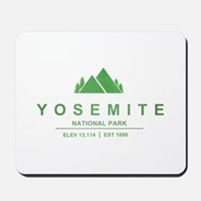 Yosemite National Park, California Mousepad