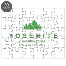 Yosemite National Park, California Puzzle