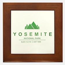 Yosemite National Park, California Framed Tile