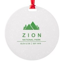 Zion National Park, Utah Ornament