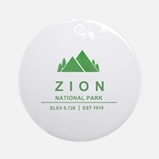 Zion National Park, Utah Ornament (Round)