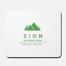 Zion National Park, Utah Mousepad