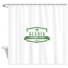 Acadia, Maine National Park Shower Curtain
