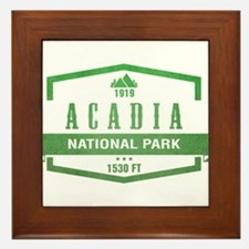Acadia, Maine National Park Framed Tile