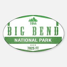 Big Bend National Park, Texas Decal