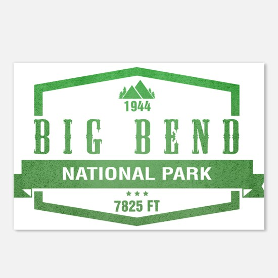 Big Bend National Park, Texas Postcards (Package o