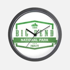 Big Bend National Park, Texas Wall Clock