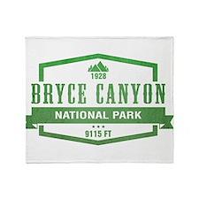 Bryce Canyon National Park, Utah Throw Blanket