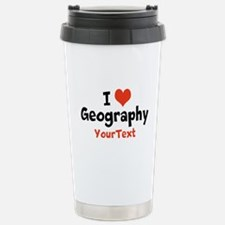 Geography Optional Text Travel Mug