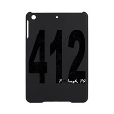 Distressed Pittsburgh 412 iPad Mini Case