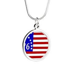 Bennington 76 Flag Necklaces
