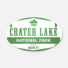 Crater Lake National Park, Oregon Oval Car Magnet