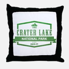 Crater Lake National Park, Oregon Throw Pillow