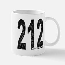Distressed New York 212 Mugs