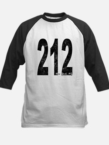Distressed New York 212 Baseball Jersey