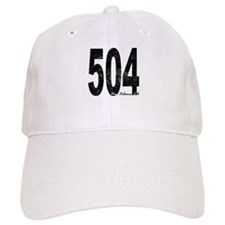 Distressed New Orleans 504 Baseball Baseball Baseball Cap