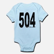 Distressed New Orleans 504 Body Suit
