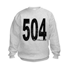 Distressed New Orleans 504 Sweatshirt
