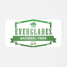 Everglades National Park, Florida Aluminum License