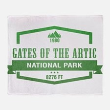 Gates of the Arctic National Park, Alaska Throw Bl