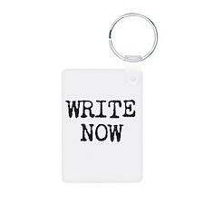 WRITE NOW Keychains