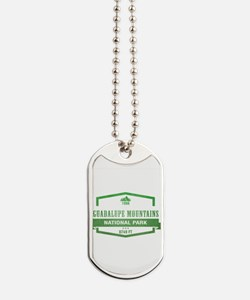 Guadalupe Mountains National Park, Texas Dog Tags