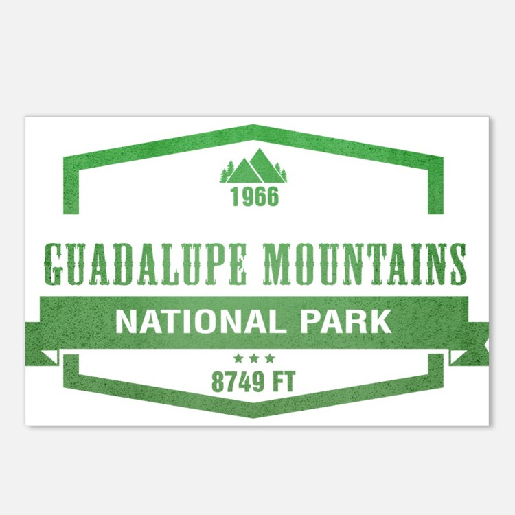 Guadalupe Mountains National Park, Texas Postcards