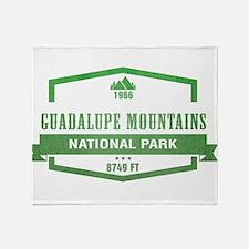 Guadalupe Mountains National Park, Texas Throw Bla