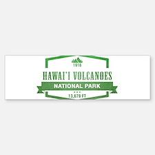 Hawaii Volcanoes National Park, Hawaii Bumper Stic