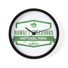 Hawaii Volcanoes National Park, Hawaii Wall Clock