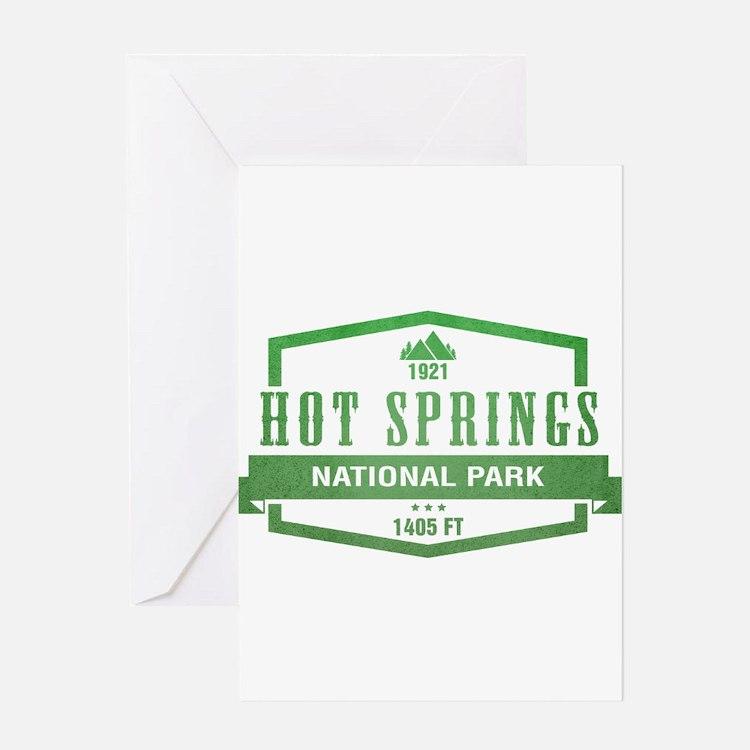 Hot Springs National Park, Arkansas Greeting Cards