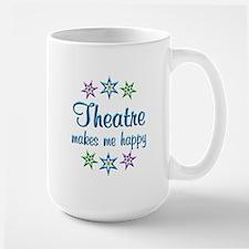 Theatre Happy Large Mug