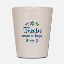 Theatre Happy Shot Glass