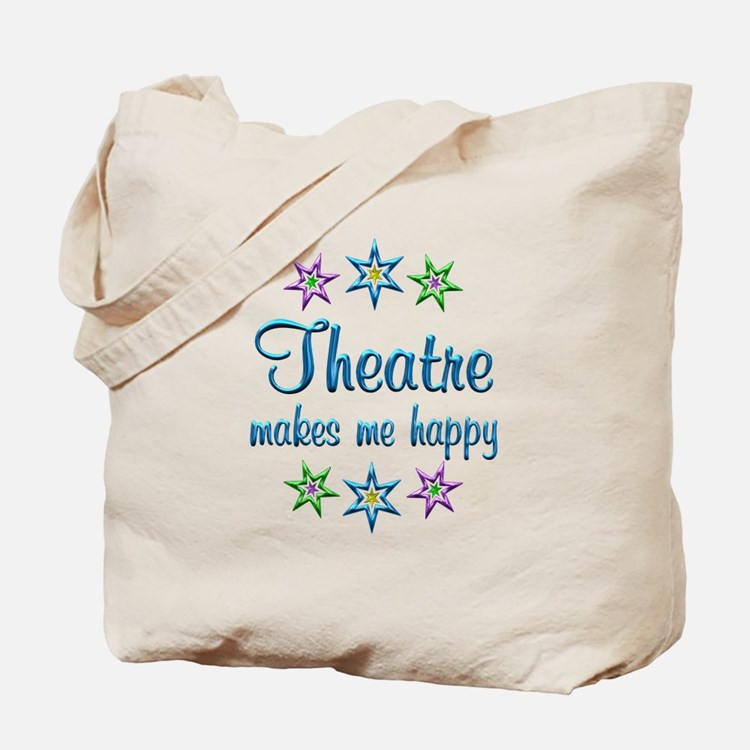 Theatre Happy Tote Bag