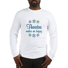Theatre Happy Long Sleeve T-Shirt
