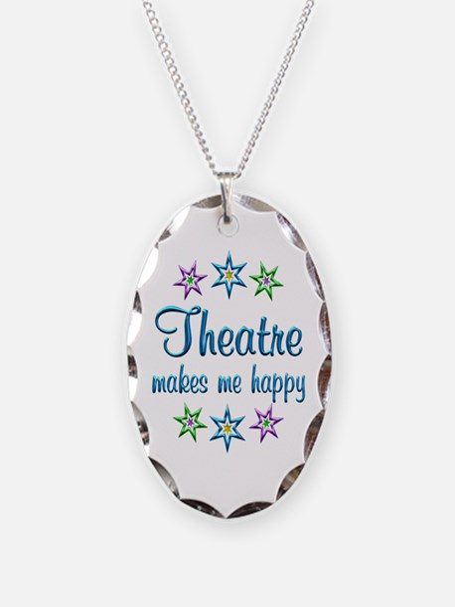Theatre Happy Necklace