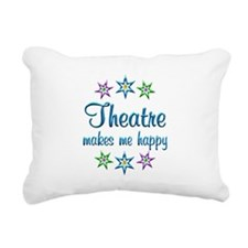 Theatre Happy Rectangular Canvas Pillow
